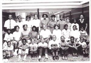 Dillard Elementary School. Photo courtesy Mr. Willie Streeter