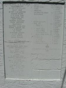 cornerstone- first African American church in Sulphur Springs