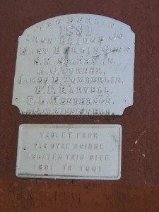 Van Dyke Bridge Tablet_closeup