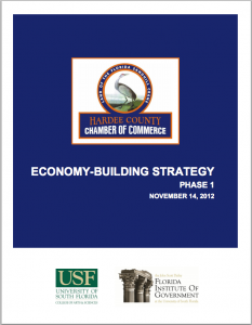 Hardee County Economy Building Strategy report